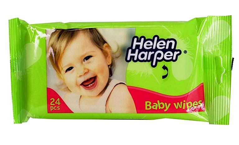 Helen Harper Детские влажные салфетки, 24 шт