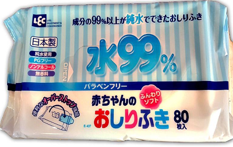 iPLUS Детские влажные салфетки 99,9% воды д/рук и лица 80 шт, м/ уп