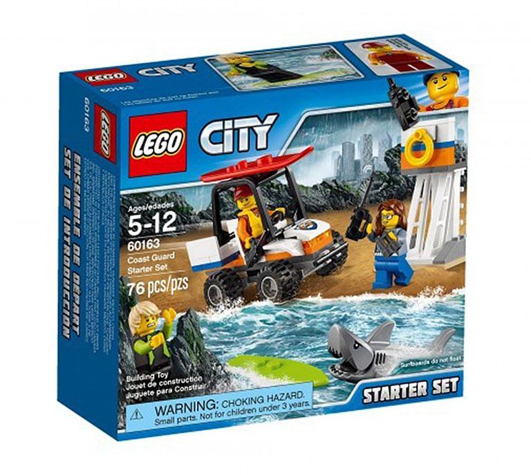 60163 CITY Набор для начинающих «Береговая охрана»