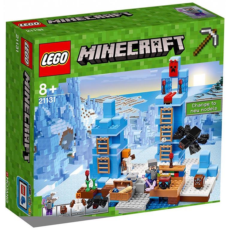 """21131 Конструктор LEGO Minecraft """"Ледяные шипы"""""""