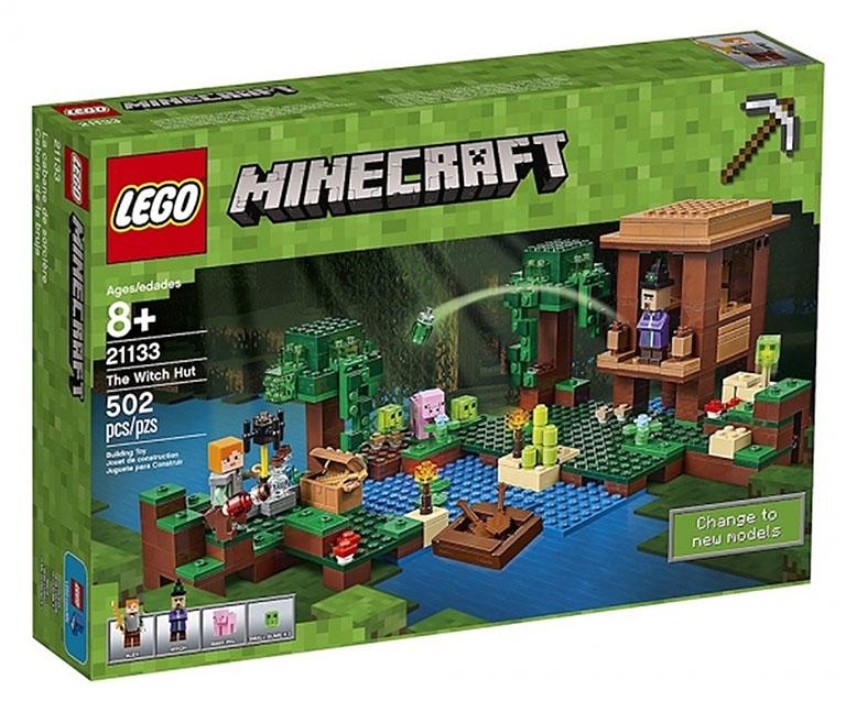 """21133 Конструктор LEGO Minecraft """"Хижина ведьмы"""""""