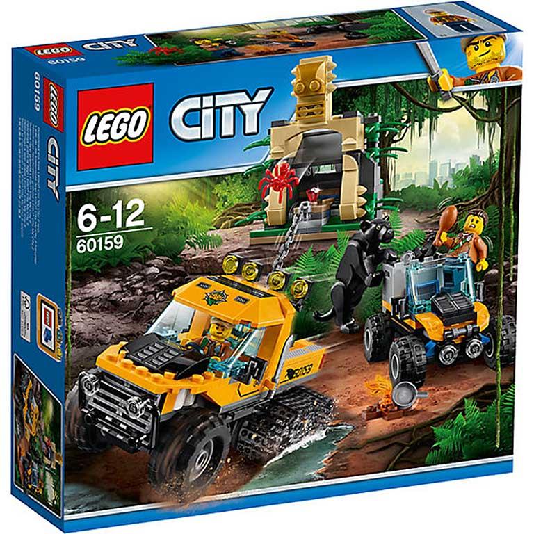 """60159 CITY """"Миссия """"Исследование джунглей"""""""""""