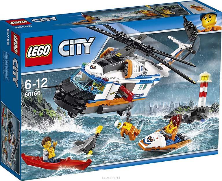 """60166  CITY """"Сверхмощный спасательный вертолёт"""""""