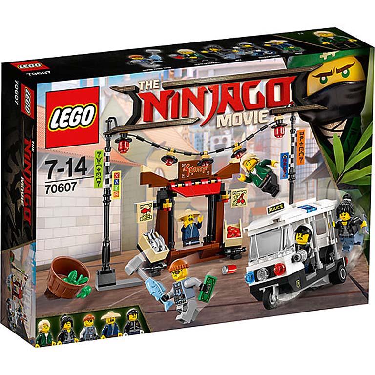 """70607 Ninjago """"Ограбление киоска в НИНДЗЯГО Сити"""""""