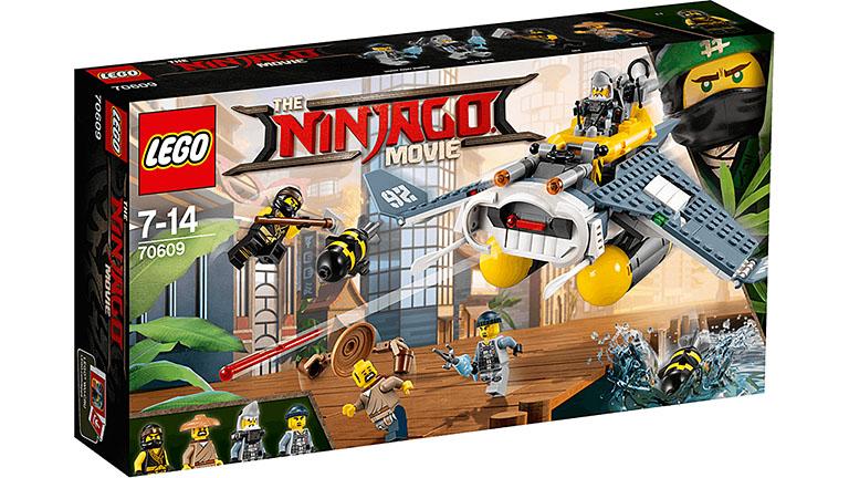 "70609 Ninjago Бомбардировщик ""Морской дьявол"""
