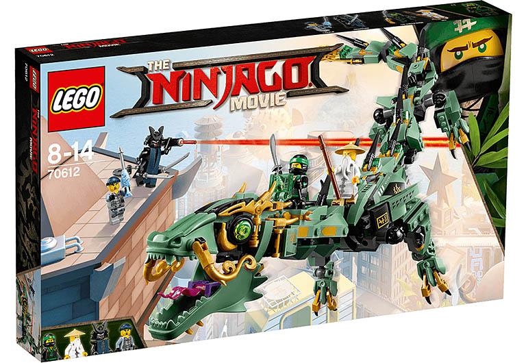 """70612 Ninjago """"Механический Дракон Зелёного Ниндзя"""""""