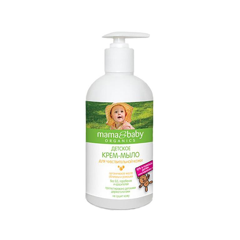 MAMA&BABY Крем-мыло для чувствит.кожи 500 мл