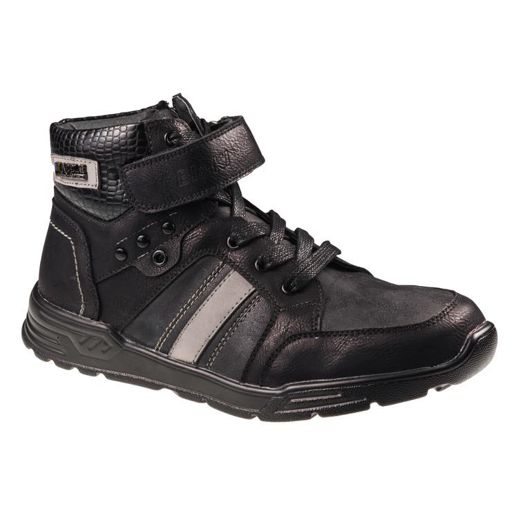 A-B23-15-A Ботинки мальч 33-38 чёрный