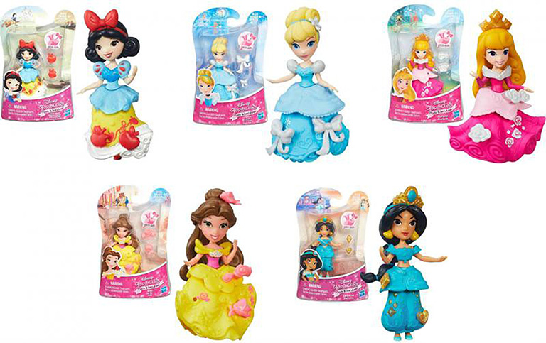 5321 Маленькая кукла принцессы (в ассорт.)