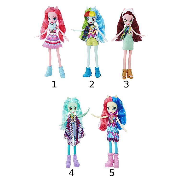 """6477B Hasbro Equestria Girls кукла """"Легенда Вечнозеленого леса"""""""