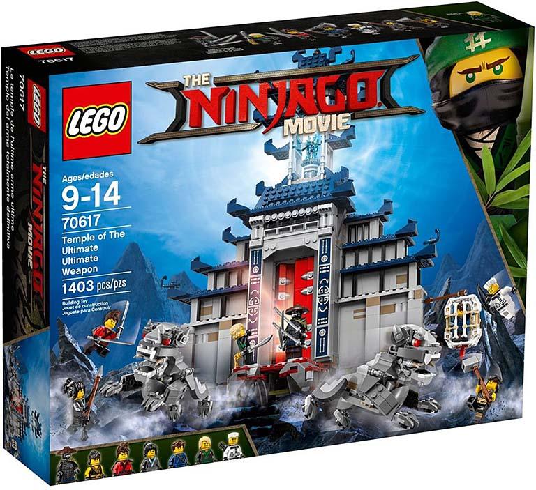 """70617 Ninjago """"Храм Последнего великого оружия"""""""