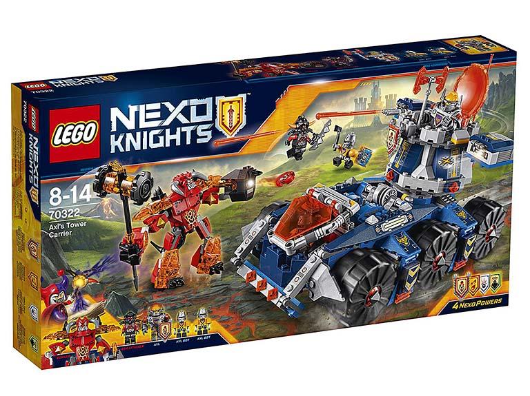 """70322 Nexo Knights """"Башенный тягач Акселя"""""""