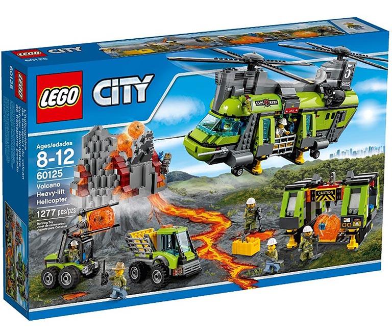 "60125 CITY ""Тяжёлый транспортный вертолёт «Вулкан»"""