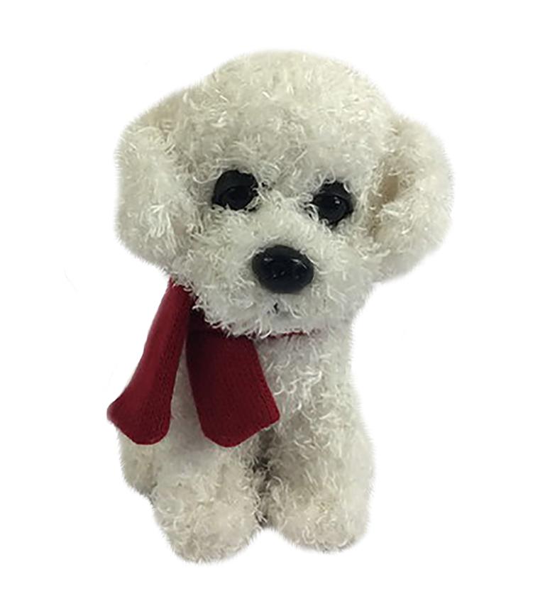 18662 Собака с шарфиком, 16см