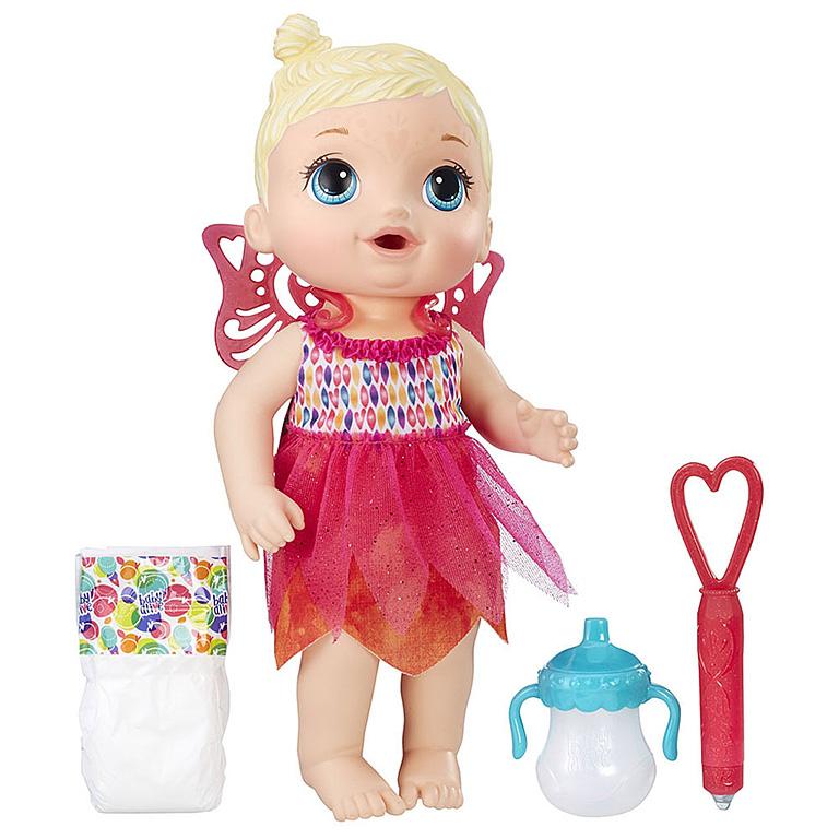 9723 Игрушка кукла Малышка-фея