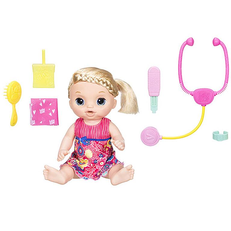 0957 Игрушка кукла Малышка у врача