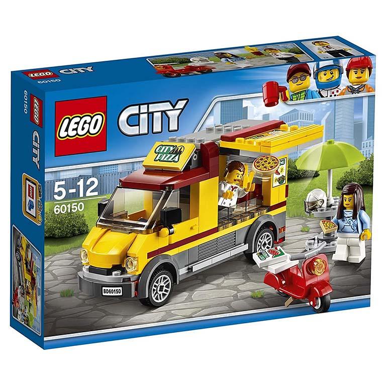 "60150 CITY ""Фургон-пиццерия"""