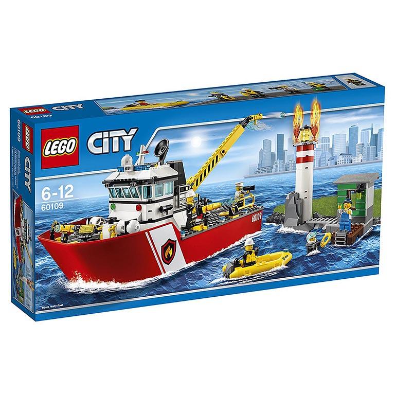 """60109 CITY """"Пожарный катер"""""""