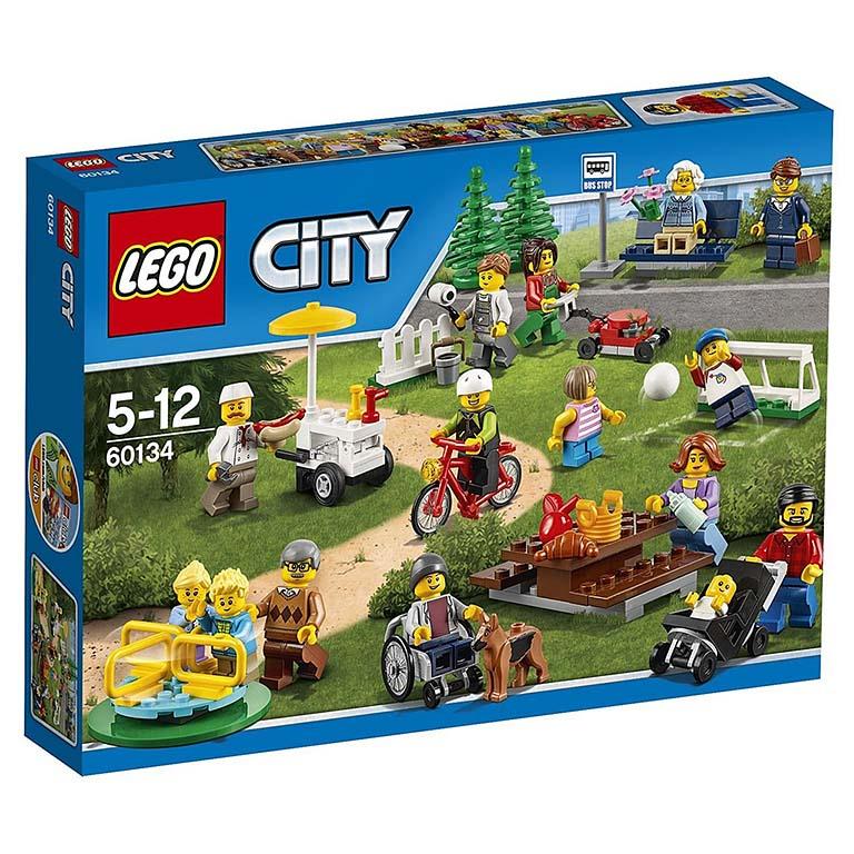 """60134 CITY """"Праздник в парке — жители LEGO City"""""""