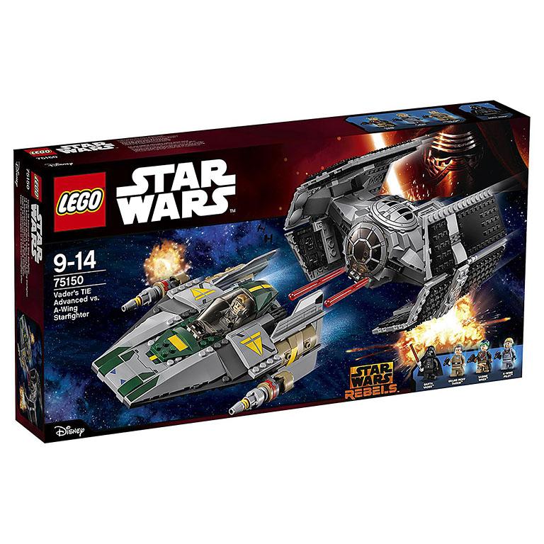 """75150 STAR WARS """"Усовершенствованный истребитель СИД Дарта Вейдера"""""""