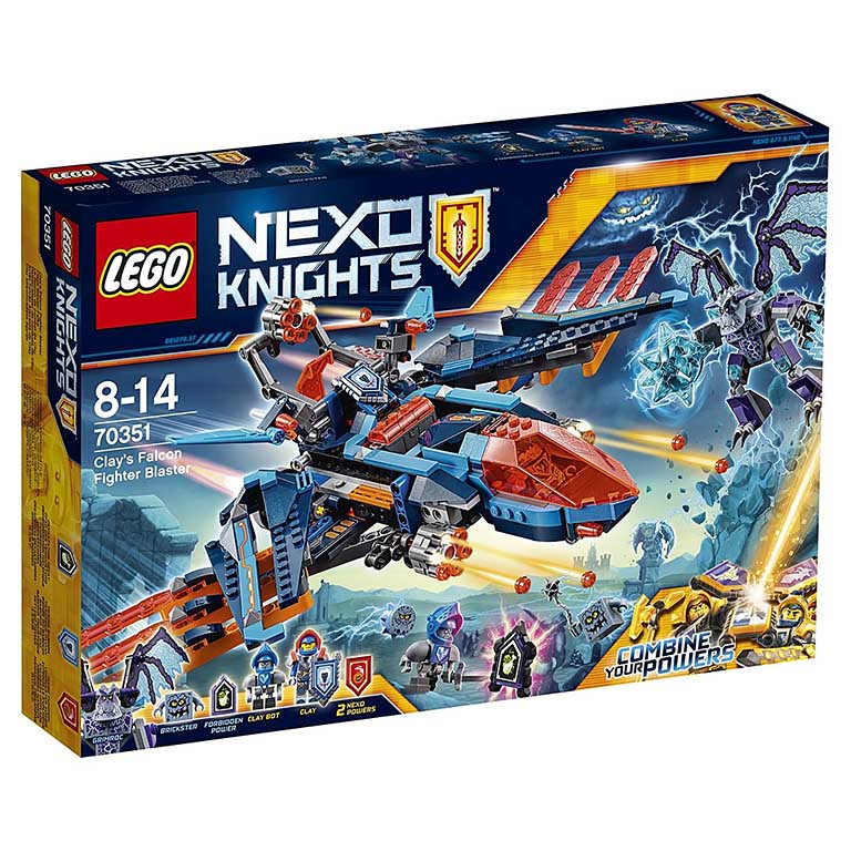 70351 Nexo Knights Самолёт-истребитель «Сокол» Клэя