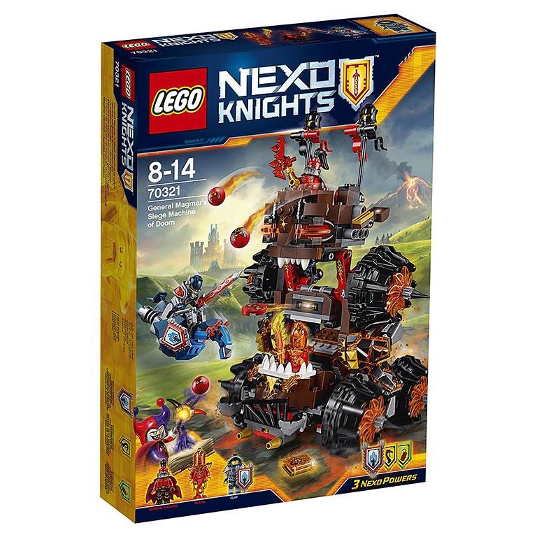 """70321 Nexo Knights """"Роковое наступление Генерала Магмара"""""""
