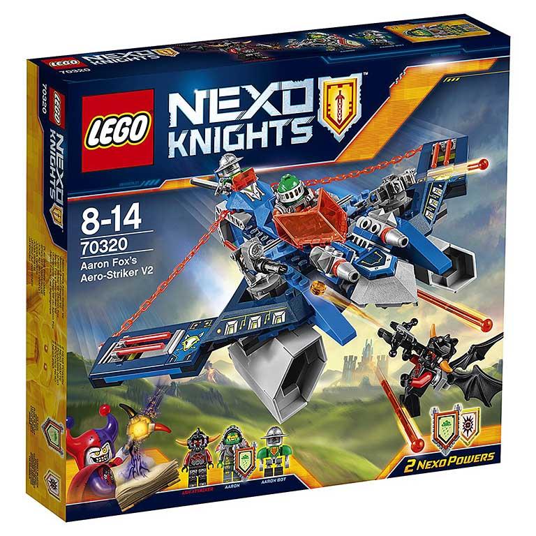 "70320 Nexo Knights ""Аэро-арбалет Аарона"""