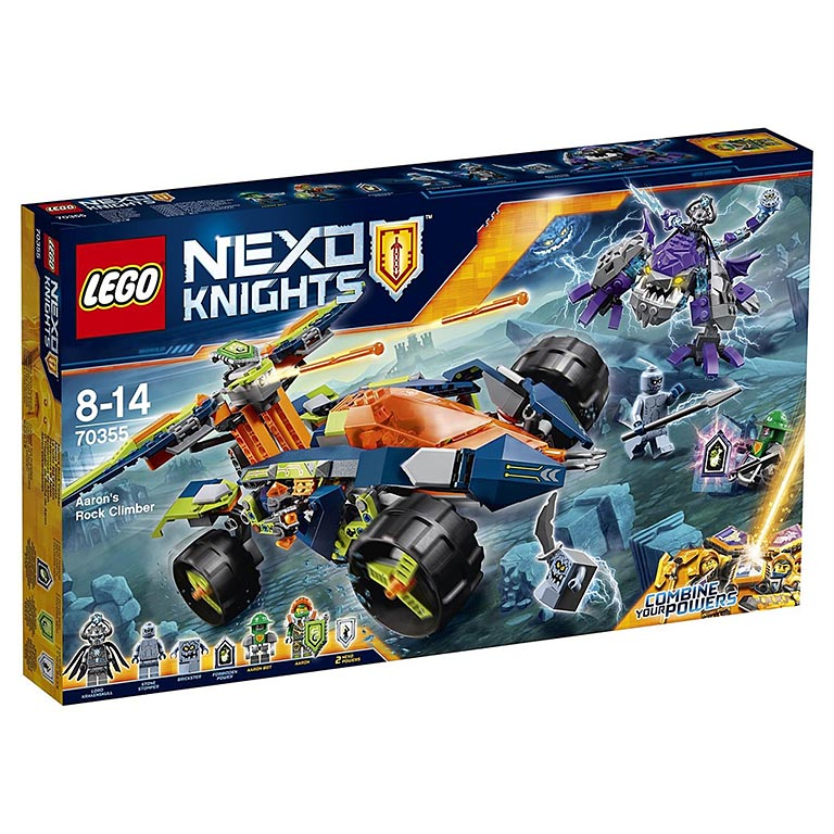 "70355 Nexo Knights ""Вездеход Аарона 4x4"""