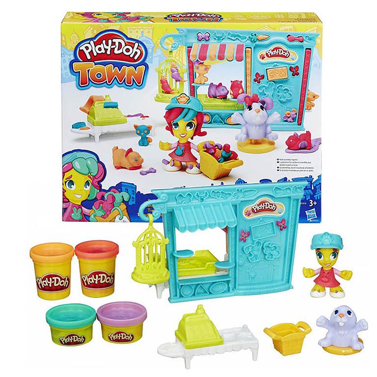 """Play-Doh B3418 Игровой набор """"Магазинчик дом питомцев"""""""