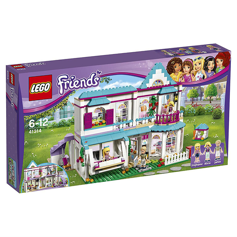 """41314 FRIENDS """"Дом Стефани"""""""