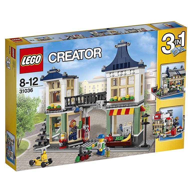 """31036 CREATOR """"Магазин по продаже игрушек и продуктов"""""""