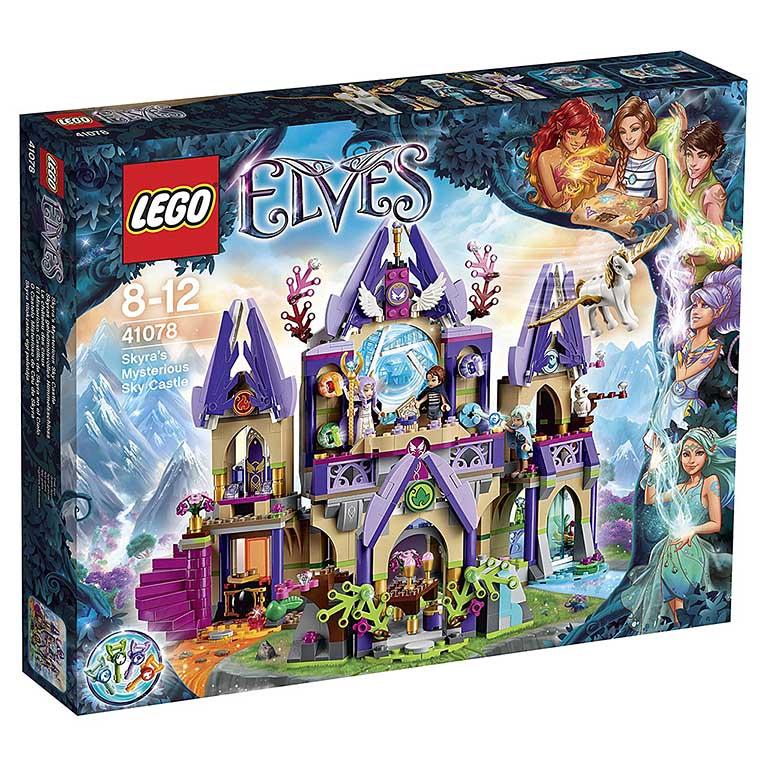 "41078 Elves ""Небесный замок Скайры"""