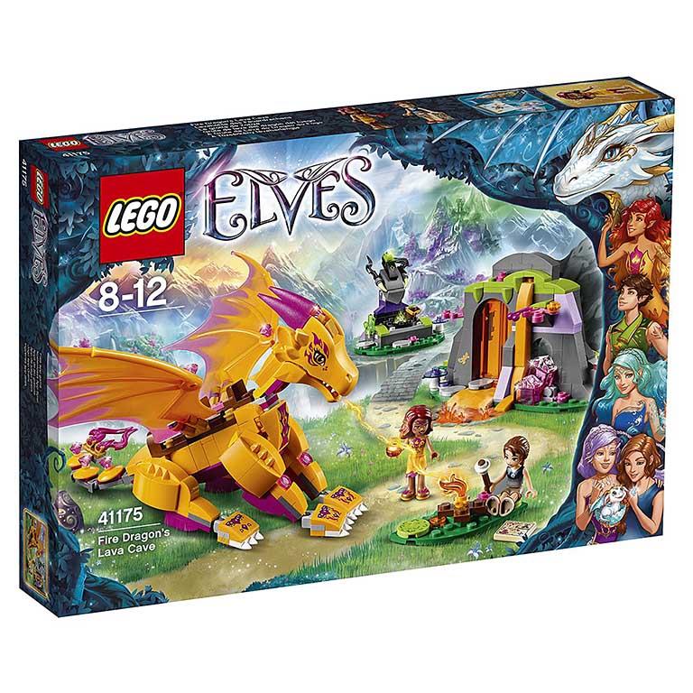 """41175 Elves """"Лавовая пещера дракона огня"""""""