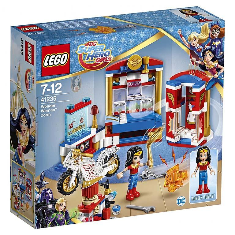 "41235 Super Hero Girls ""Дом Чудо-женщины"""