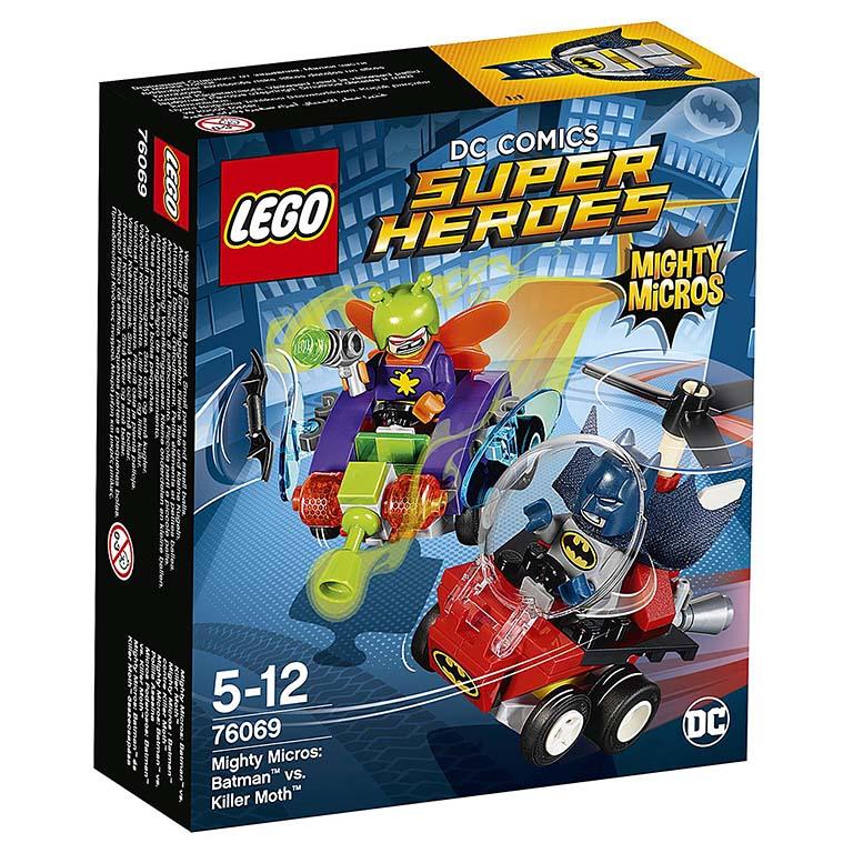 76069 Super Heroes Mighty Micros: Бэтмен против Мотылька-убийцы