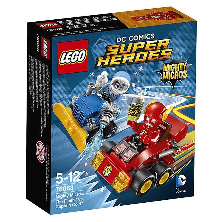 "76063 Super Heroes ""Флэш против Капитана Холода"""
