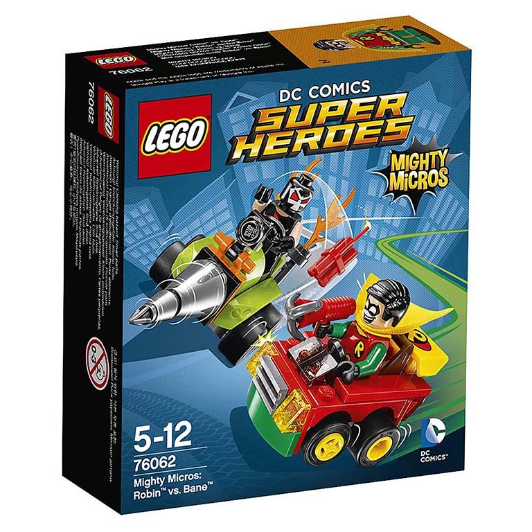 "76062 Super Heroes ""Робин против Бэйна"""
