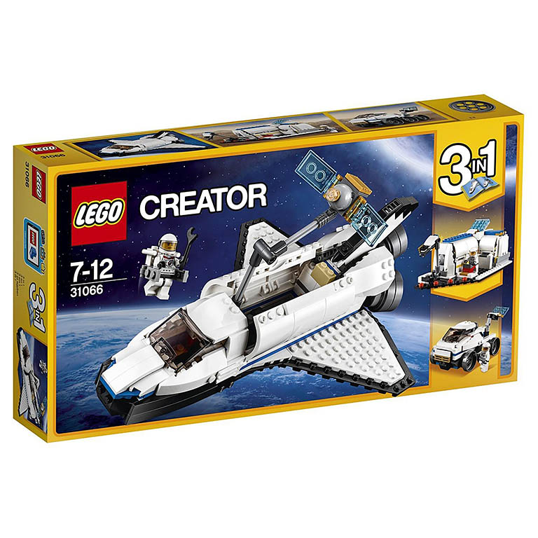 """31066 CREATOR """"Исследовательский космический шаттл"""""""