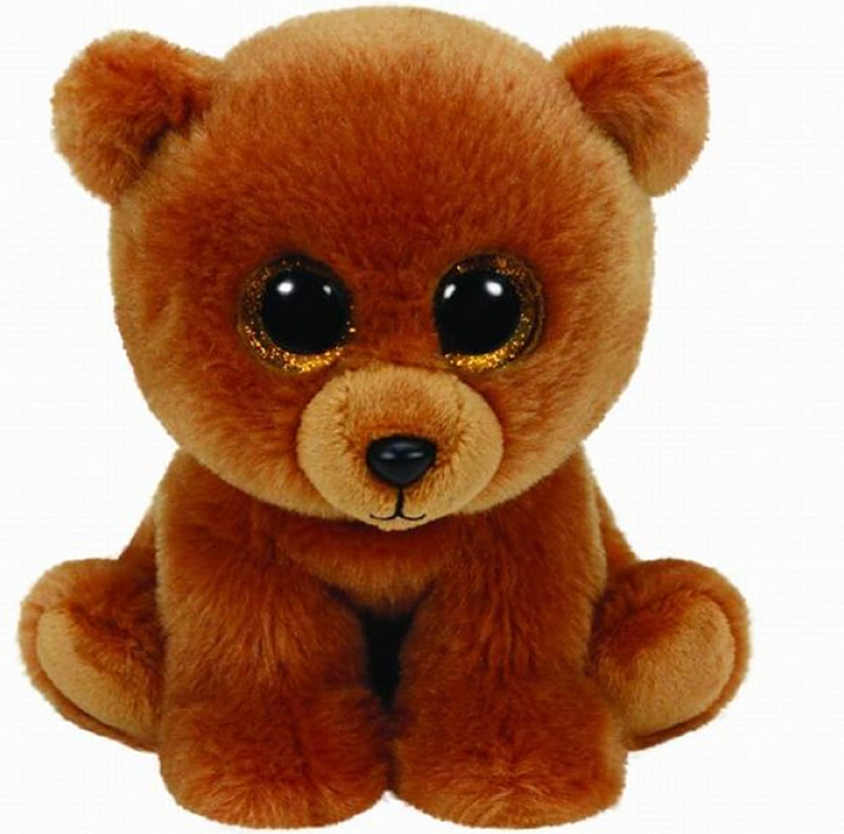 90222 Коричневый мишка Brownie, 25 см