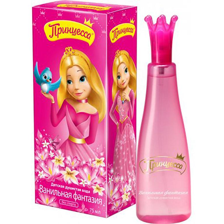 Принцесса Душистая вода Ванильная фантазия, 75мл