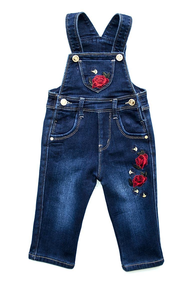 Комбинезон джинс/флис 16507 (80-104)