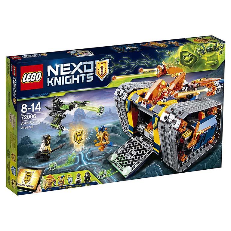 """72006 Nexo Knights """"Мобильный арсенал Акселя"""""""