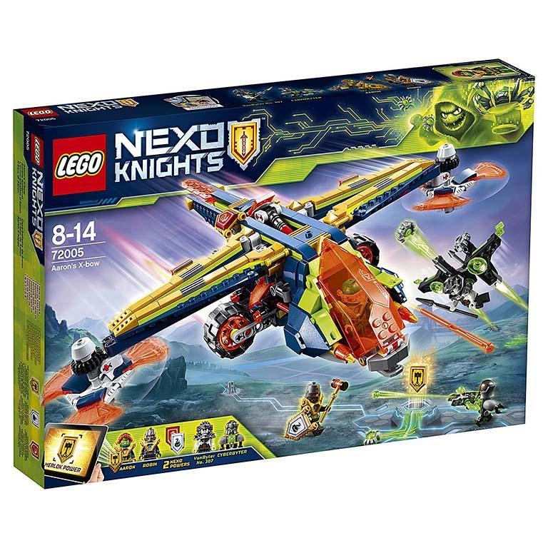 "72005 Nexo Knights ""Аэро-арбалет Аарона"""