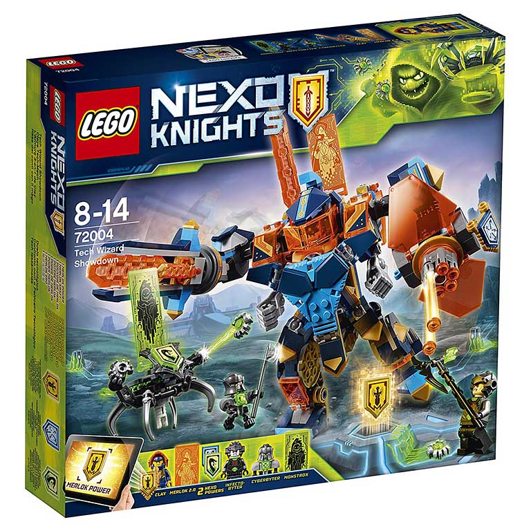 "72004 Nexo Knights ""Решающая битва роботов"""