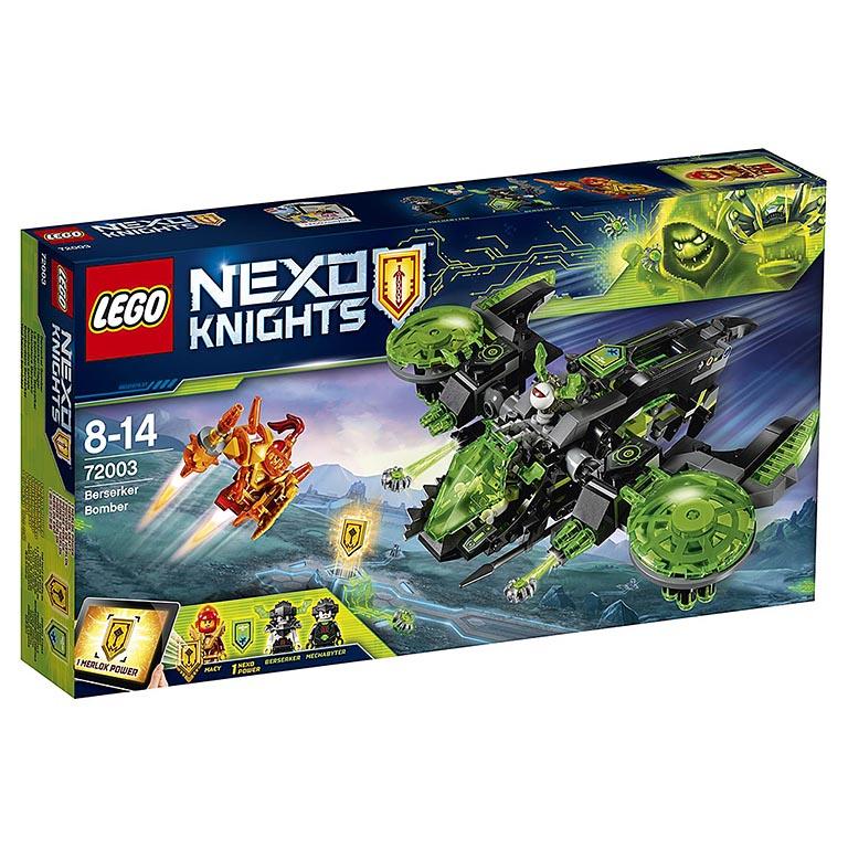 """72003 Nexo Knights """"Неистовый бомбардировщик"""""""