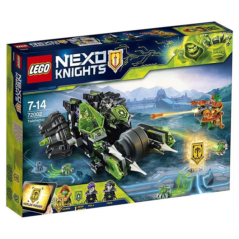 """72002 Nexo Knights """"Боевая машина близнецов"""""""