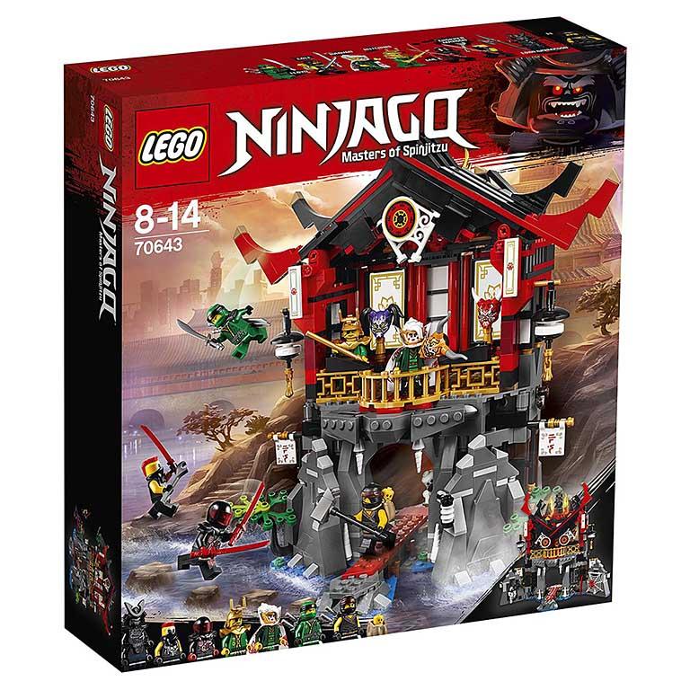 """70643  Ninjago """"Храм воскресения"""""""
