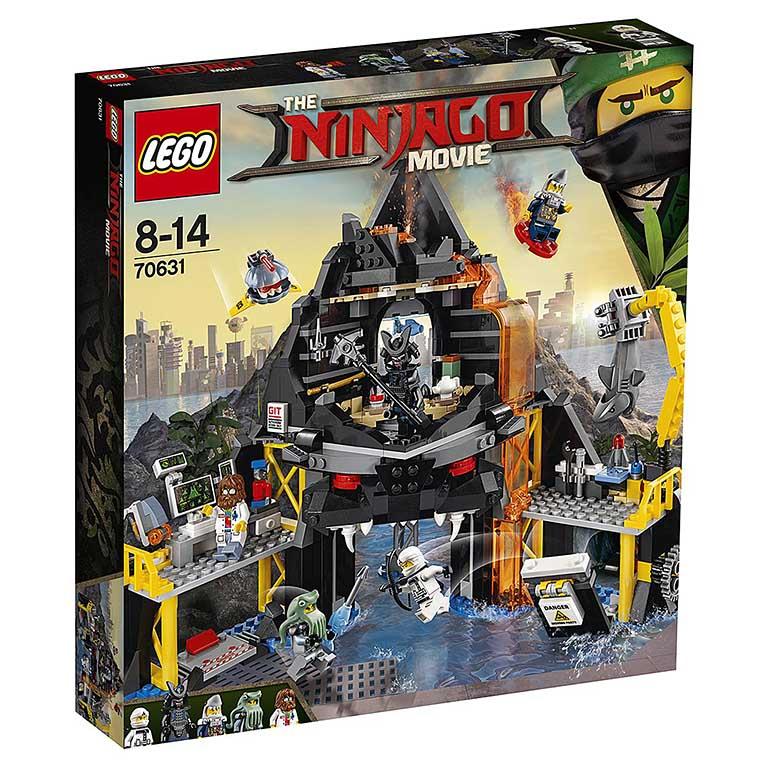 "70631 Ninjago ""Логово Гармадона в жерле вулкана"""