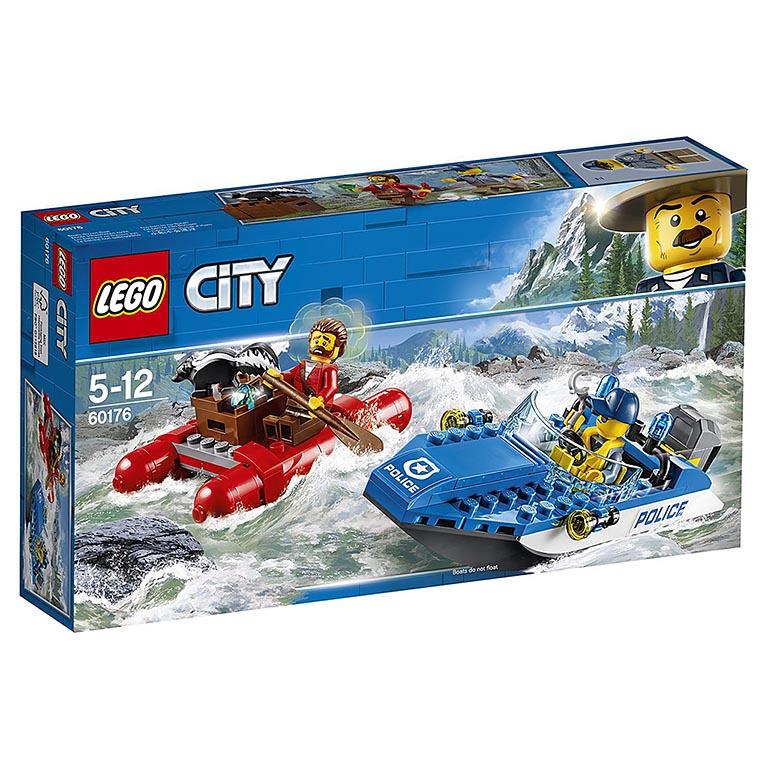 """60176 CITY """"Погоня по горной реке"""""""