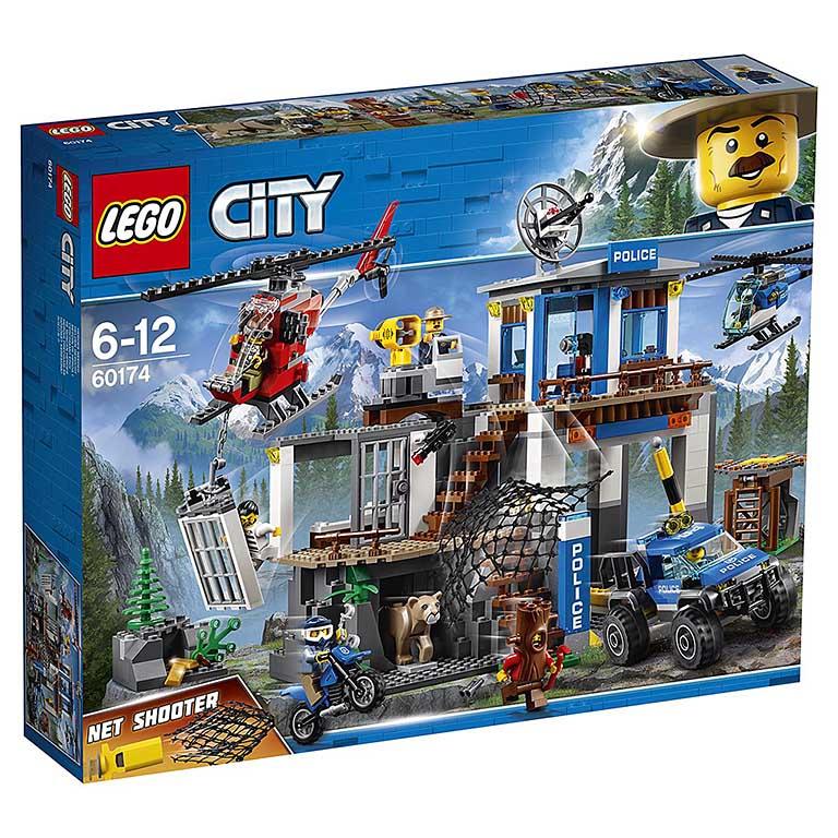 """60174 CITY """"Полицейский участок в горах"""""""